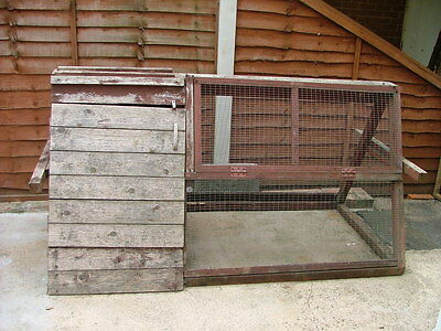 Rabbit Hutch  with Run - Large Outdoor Hutch / Cage