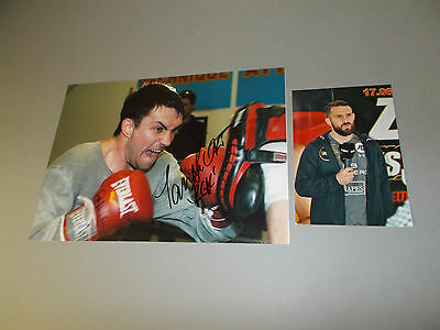 Paul Smith  Boxer signed signiert Autogramm auf 20x28 Foto in person