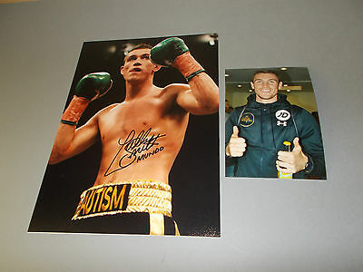 Callum Smith  Boxer boxing  signed signiert Autogramm auf 20x28 Foto in person