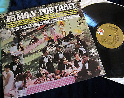 "12"" LP V.A. - FAMILY PORTRAIT - FROM A&M Records !!! A&M USA !!!"