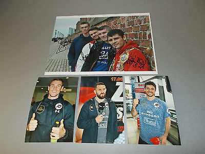 Smith Brothers Paul Callum Stephen Liam  signed signiert Autogramm 20x28 Foto