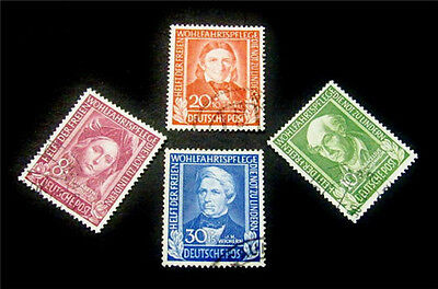 nystamps Germany Stamp # B310 // B313 Used $145