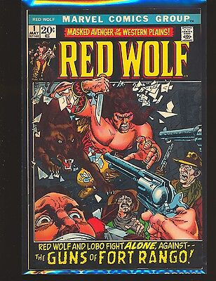 Red Wolf # 1 - Syd Shores art VF Cond.