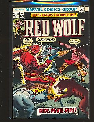 Red Wolf # 6 VF+ Cond.