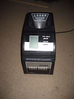 Royal Sovereign Coin Sorter Machine Model FS-4DA Fast Sort Change Counter