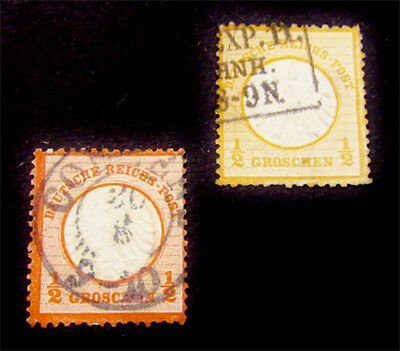 nystamps Germany Stamp # 3 3a Used $83