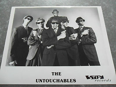 THE UNTOUCHABLES - Original Promo / Press / Advertising Photo - STIFF RECORDS
