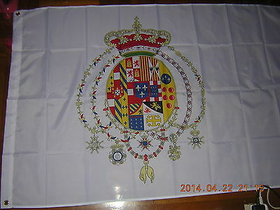 Reproduced Flag of the Kingdom of the Two Sicilies 1849-1860 Italy Ensign 3X5ft