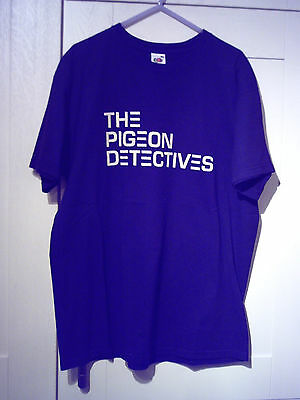 "The Pigeon Detectives - 2008 Vintage ""emergency"" Uk Tour Black T-Shirt (L)"