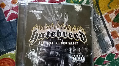 "cd hatebreed "" the rise of brutality "" thrash metal"