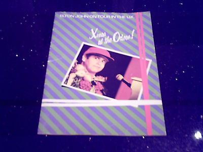 "Elton John - ""xmas At The Odeon!"" Hammersmith Odeon Concert 15/12/1982 Programme"