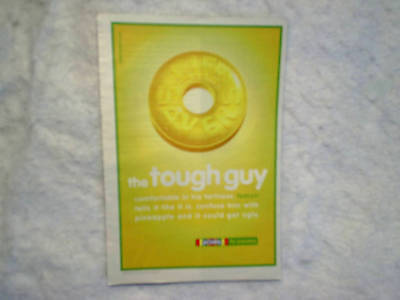 2002 LIFE SAVERS Lemon *AD PRINT ONLY The Tough Guy