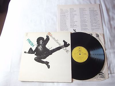 """Sly And The Family Stone """" Fresh """" UK 1st Press Epic Record Label"""
