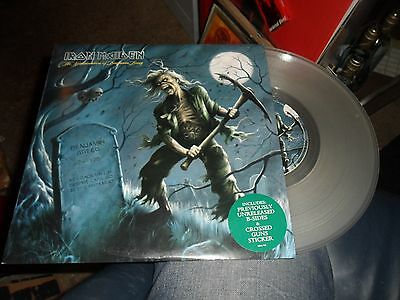 Iron Maiden.the Reincarnation Of Benjamin Breeg.10'' Clear Vinyl+Sticker