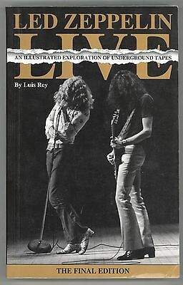 Luis Rey LED ZEPPELIN LIVE Final Edition! One of the RAREST Zep Book s Anywhere!