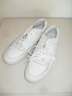 Brand New White Mens Leather Trainers Size 7