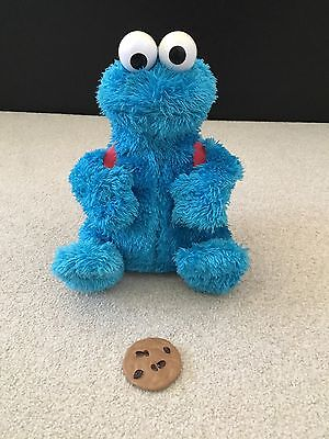 Cookie Monster Count and Crunch toy - Rare - Working