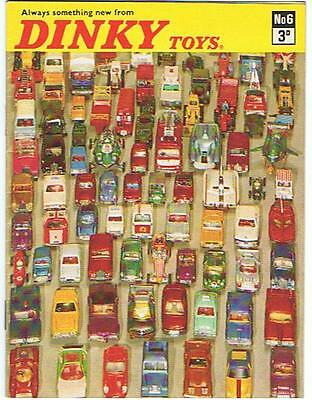 KDT KATALOG CATALOGUE DINKY TOYS NR 6.1970,Prices english,DIN A6+++ very good !