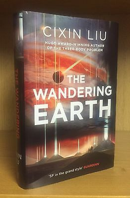 The Wandering Earth - Cixin Liu **Signed & Limited First Edition** UK 1st/1st