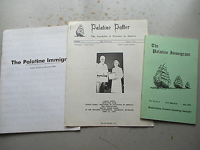 The Palantine Immigrant - Two Issues 1995 & 2005, Palantine Patter 1990