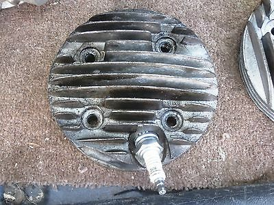 Lambretta 225cc 70mm Cylinder Head, Late SX200 or GP200, Innocenti, Modified
