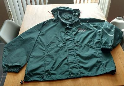 Jaguar Racing nylon light weight jacket in green size XL used excellent