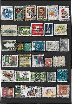 Portugal Nice Small Early Onwards  Stamps Collection Good Mixture Collection