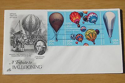 A Tribute To Hot Air Ballooning 1983 USA Cover