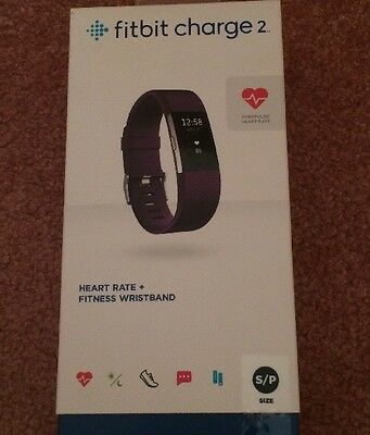 Fitbit Charge 2 With Purple Strap