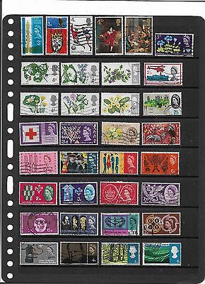 British Pre-Decimal Used Commemorative Stamps With Sets Good Mixture #collection
