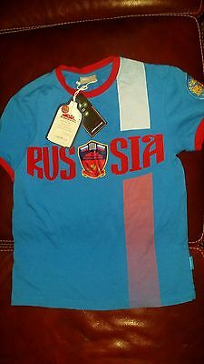 Tee-shirt unisexe RUSSIA (Forward) taille 3XS