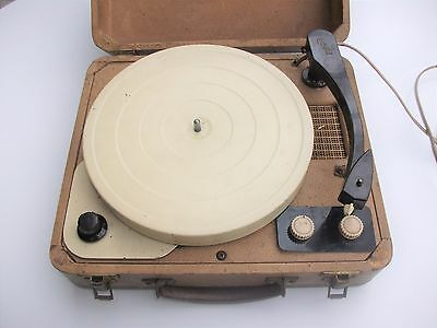 Vintage Champion Retro Record Player