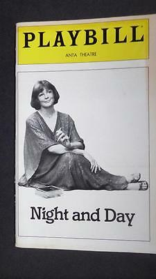 Broadway Playbill Maggie Smith Night and Day Stoppard Clarence Williams III
