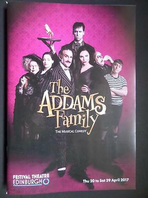 Programme The Addams Family premiere Carrie Hope Fletcher Dennis Womack