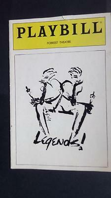 Playbill Legends Carol Channing Mary Martin Gary Beach James Kirkwood