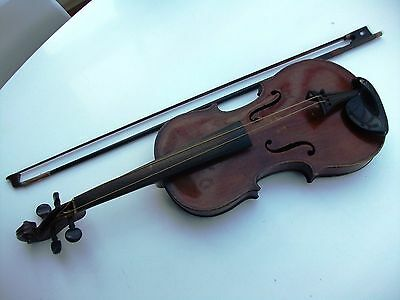 Vintage - The Maidstone - Violin - For Restoration- With a Bow