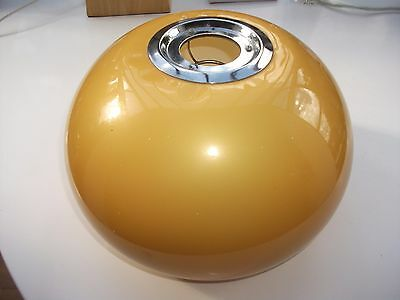 Retro Ceiling Light Shade -  Mustard Yellow  Lamp Shade pendant