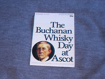 ASCOT NOVEMBER 17th 1979 BUCHANAN WHISKY DAY. NIGHT NURSE