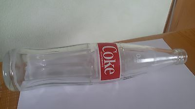 1x Old Coca Cola Germany Empty 0,5L Glass Bottle Softdrink Collect Sammeln