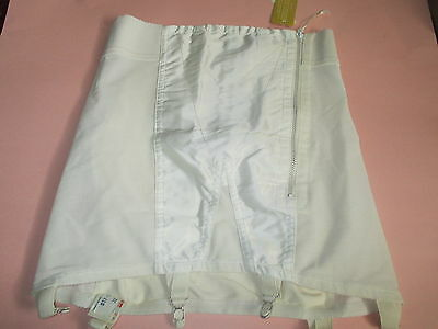 Vintage  NOS Ross Foundations Open Bottom High Waist Girdle W/6 Garters Size 32