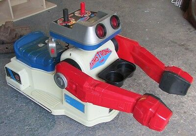 VINTAGE TOMY ARMSTRONG MOBILE COMMAND POWERIDE ROBOT 1980's VERY RARE