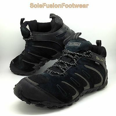 Peter Storm Mens VISTA Shoes Black size 9 Waterproof Hiking Boots Trainers EU 43