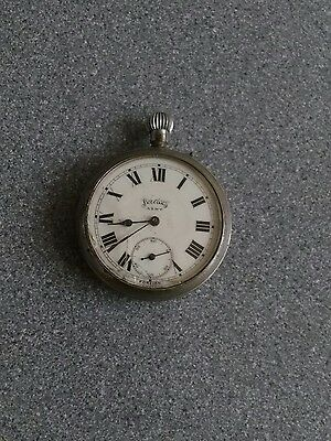 Old original army services pocket watch for repair world war 2