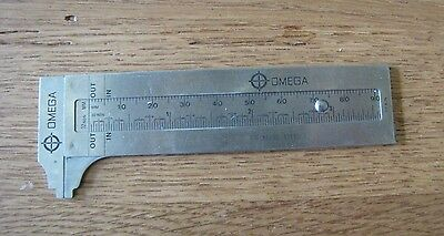 Small 4 Inch Omega Caliper - Stainless Steel