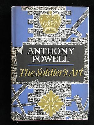 THE SOLDIER'S ART by ANTHONY POWELL dance to the music of time  UK 1st 1966