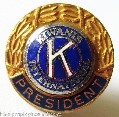Kiwanis International   President lapel pin
