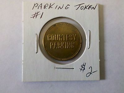 Parking Token No Date #1