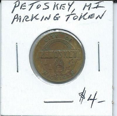 Petoskey, Mi., Parking Token