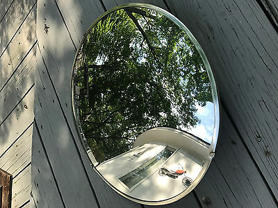 18 Inch Convex Security Mirrors Retail Store Display Fixture Diameter Used