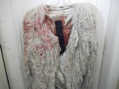 LUCIFER-TV SERIES-FEATHER JACKET worn by DELILAH-Series Pilot -ANNALYNNE MCCORD